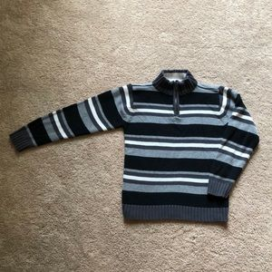 Children's Place striped 1/2 zip sweater size 7/8